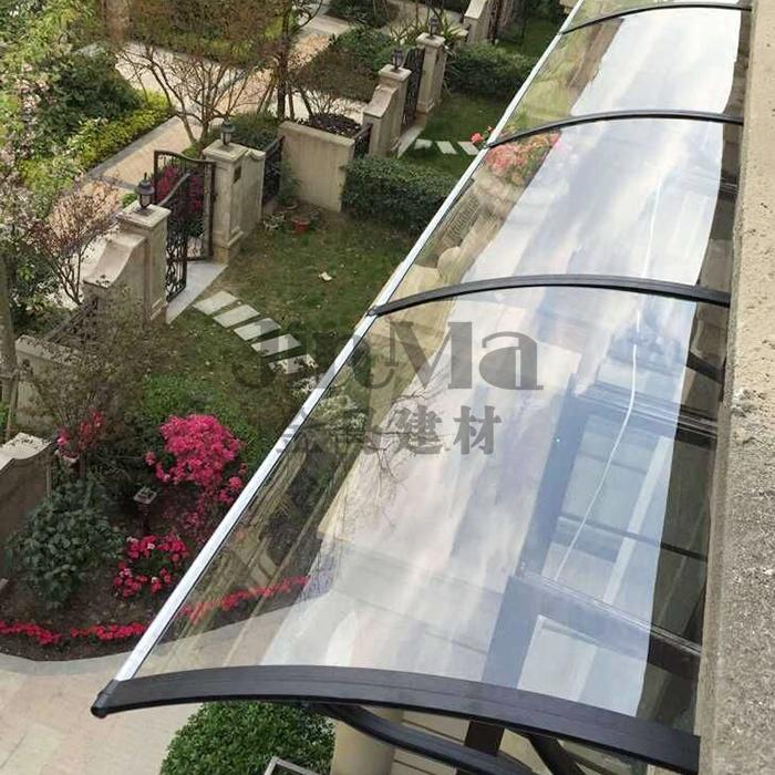 Алюминиевых сплавов стоять навес навес крышка навес дождь взять окно навес балкон тент блок навес роса тайвань парус
