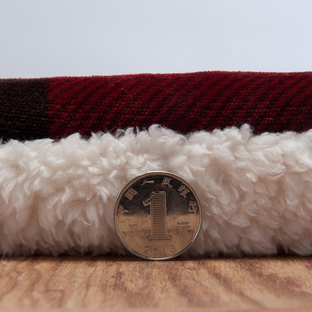 三层毛毯加厚双层被子珊瑚绒毯被冬季盖毯子仿羊羔绒毛毯双人 北