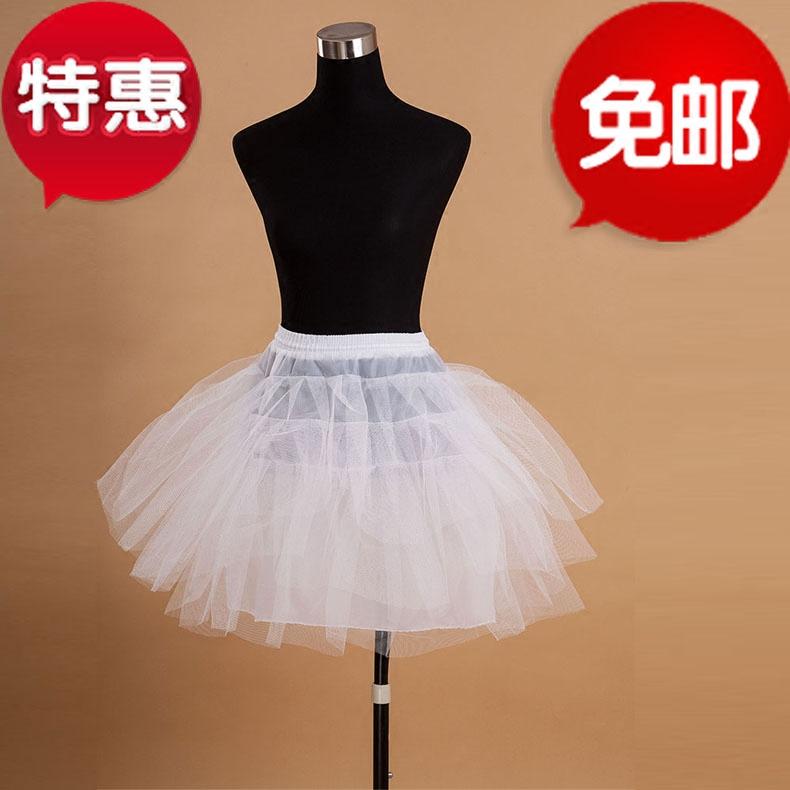 Балет бесхарактерный юбка поддержка платья короткий подкладка юбка cos поддержка юбка ежедневно горничная наряд lolita паньер