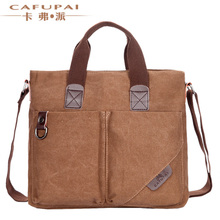 Rob fresh price Carver retro briefcase canvas bag Men's bags handbag laptop bag bag, leisure bag