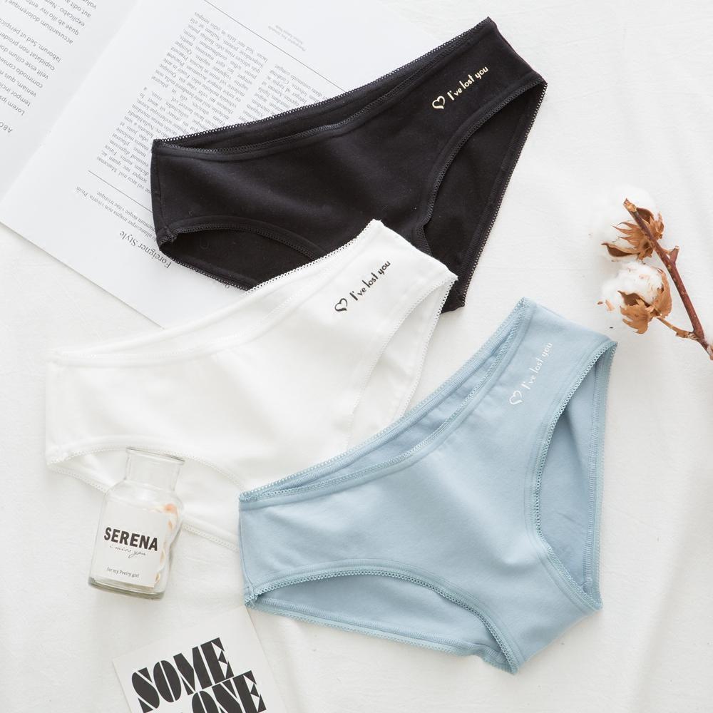 全棉抗菌底裆三角裤