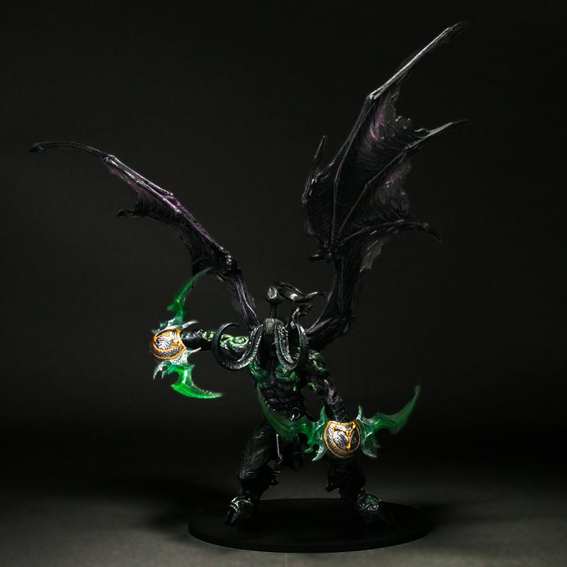 热销正版魔兽世界模型手办摆件 风行者恶魔猎手精灵圣骑士亡灵术