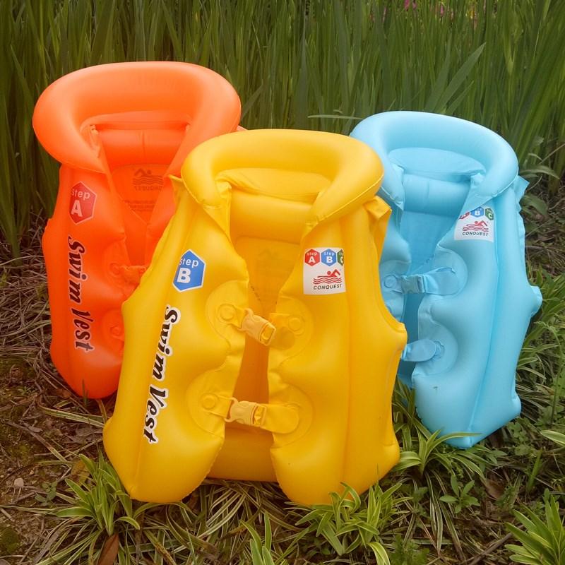 男童浮力游泳便携婴幼儿气囊能泳圈专业装备救生衣婴儿小朋友