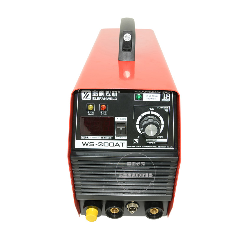 10-19新券益利ws-200at/ac逆变手弧焊氩弧焊两用电焊机不锈钢家用亚弧焊机