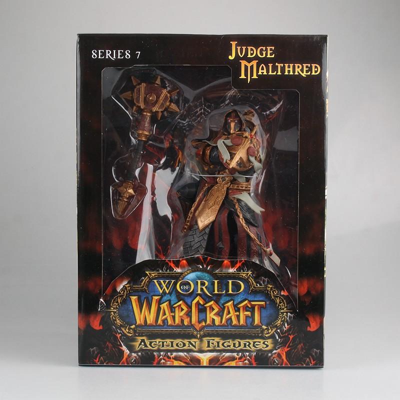 促销WOW魔兽世界审判骑士橙锤圣骑士瓦兰奈尔手办模型摆件周边公