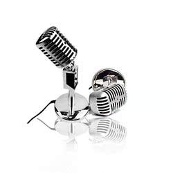 復古式話筒 臺式筆記本電腦麥克風 電容K歌話筒筆記本語音聊天