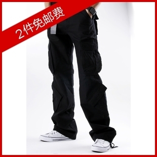 Korean version Dongkuan outdoor sports pants influx of men men s casual pants men loose trousers overalls male long pants
