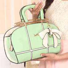 Contracted fashion small pure and fresh and tide leisure female bag shoulder bag 2015 new large capacity backpack