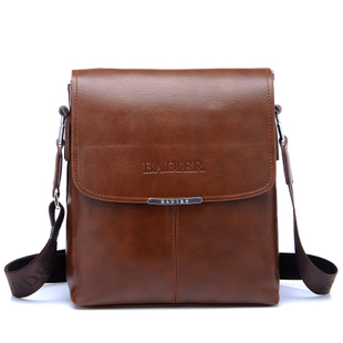 Genuine leather man back Korean business casual men s leather men s shoulder Messenger
