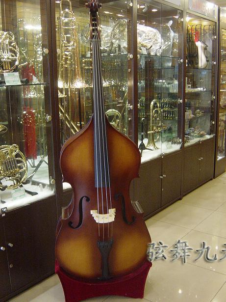 Продвинутый дерево бас . бас скрипка бас большой скрипка время большой скрипка 3/4