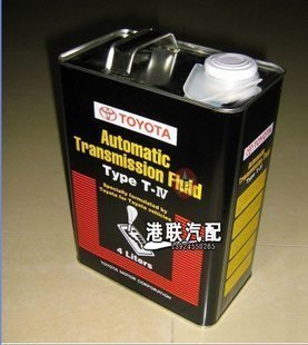 Toyota pure brand ATF TYPE T-IV automatic gearbox oil