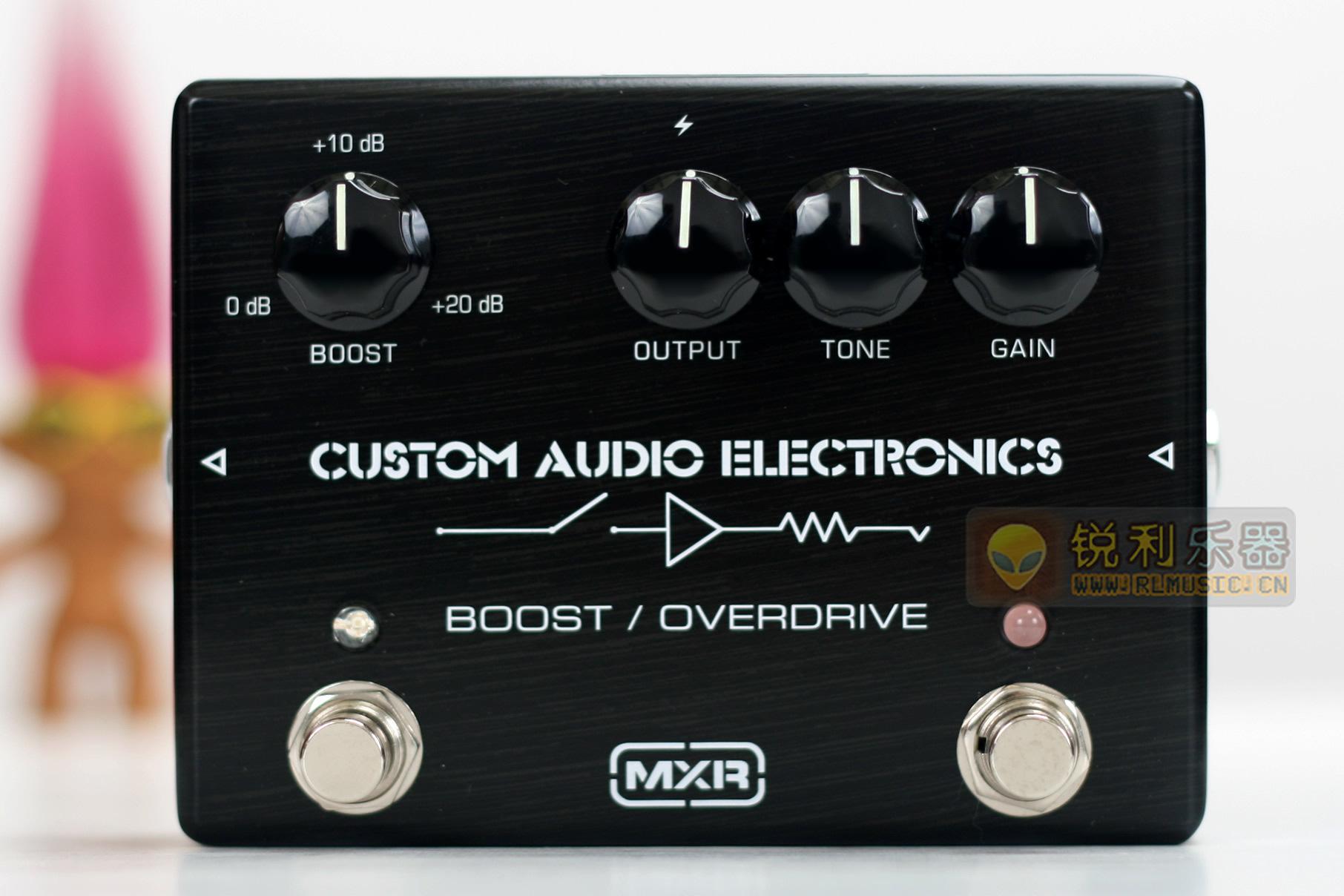【MXR CAE MC402 Boost Overdrive】激励过载效果器【锐利乐器】