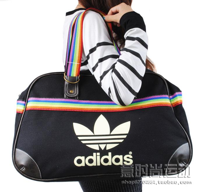 Сумка adidas жен. сумка через плечо с надписями брезент.