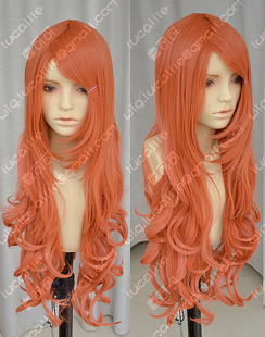 ZYR Piece grow Edition Nami nami two years after the Orange Large high temperature wire cosplay wig