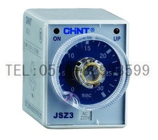 Genuine Chint time relay ST3P power delay JSZ3 A G