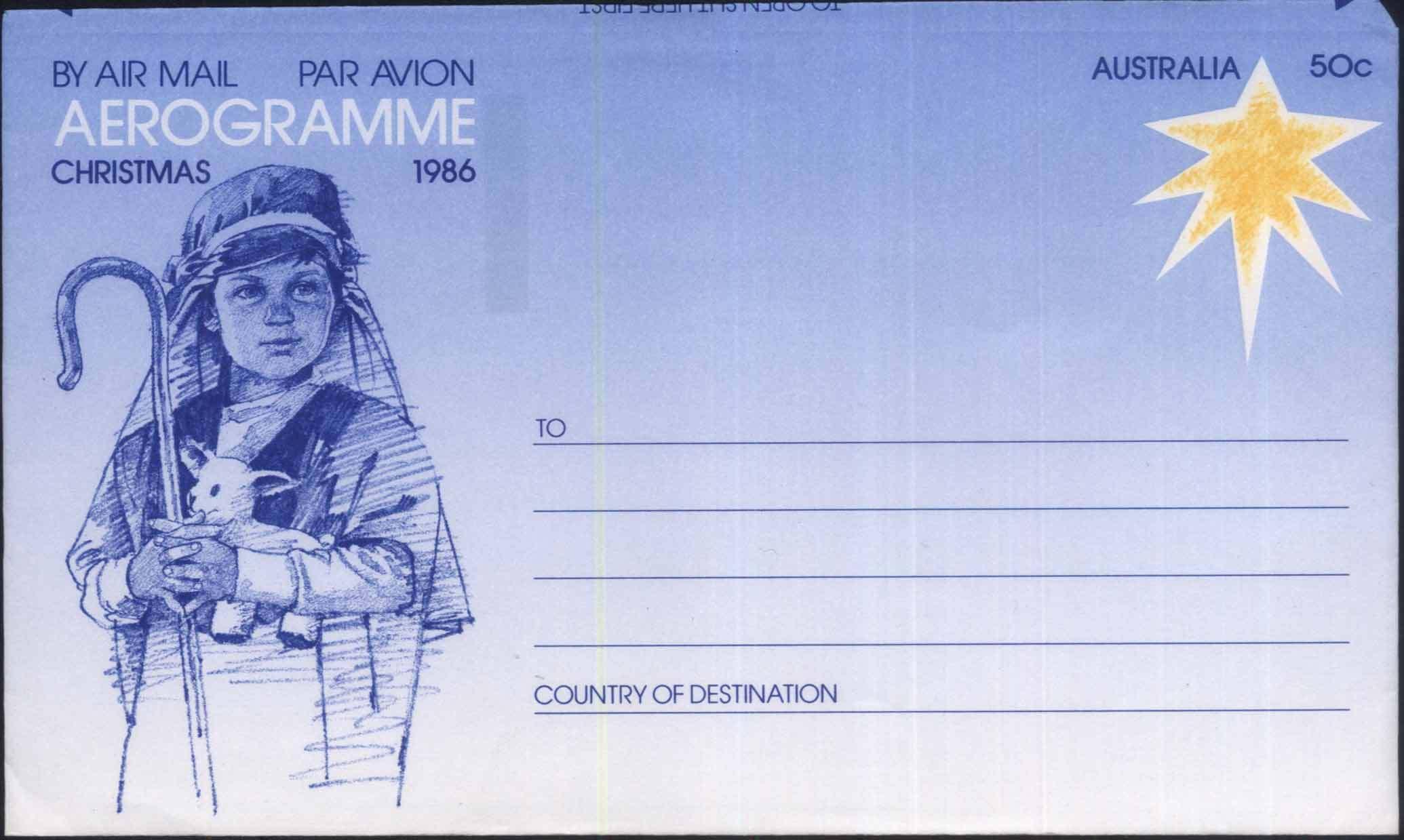 EA-YJ1 австралия италия азия 1986 авиация почта простой медаль