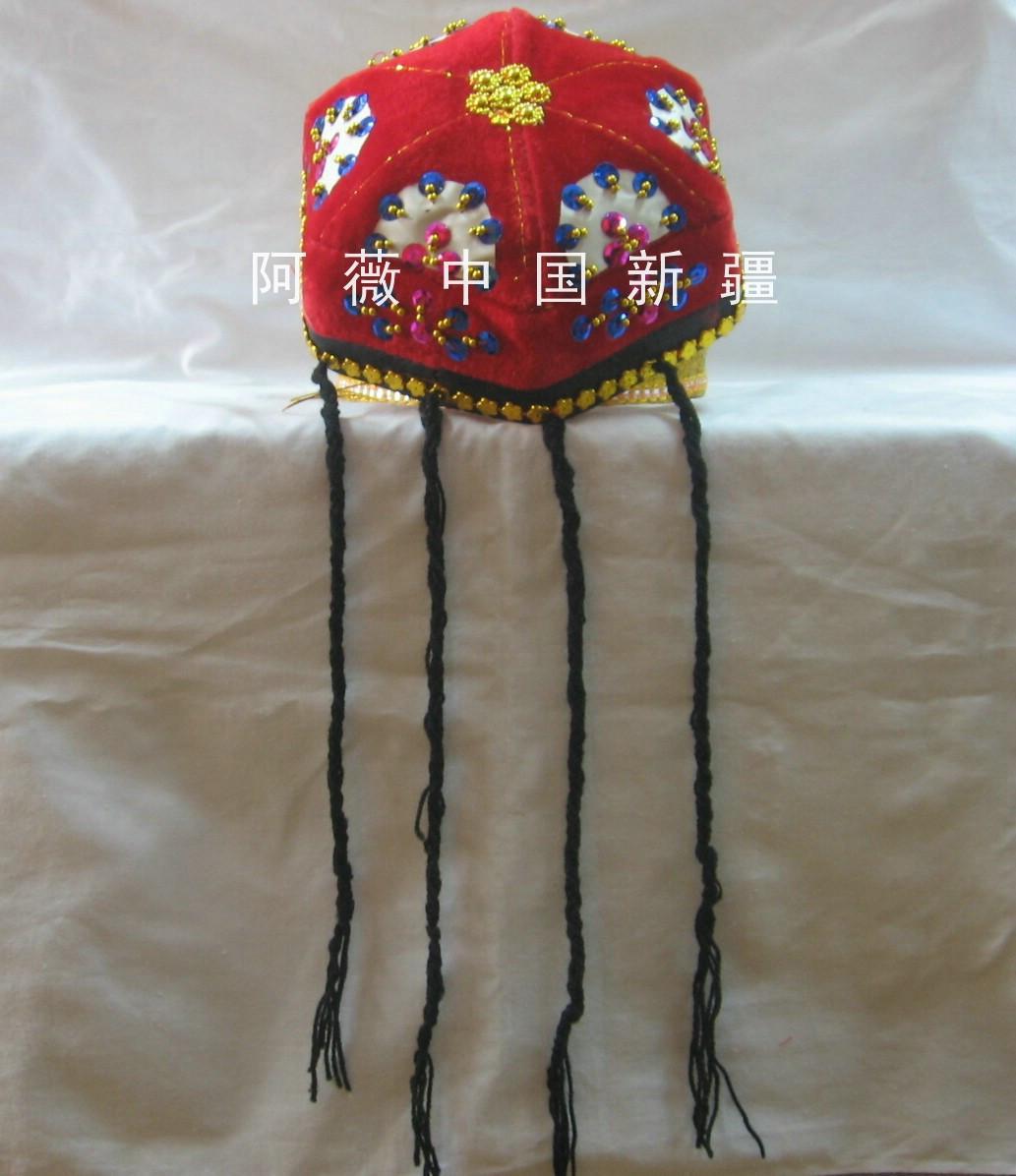 Синьцзян размер гонка шляпа народ одежда синьцзян шляпа синьцзян одежда народ танец одежда M