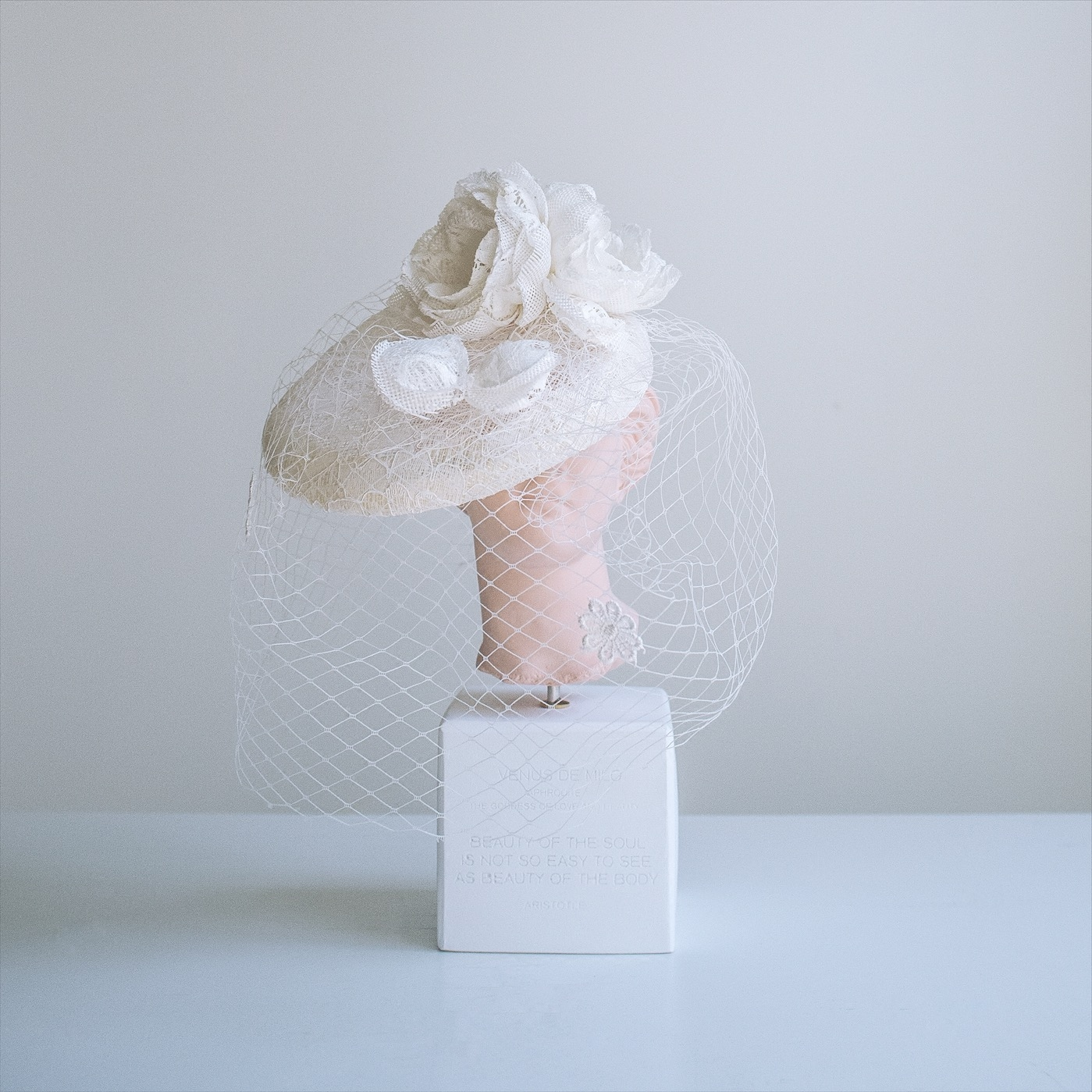 DREAMER оригинал ретро французский невеста бригада бить крышка лицо украшения крышка сын ручной
