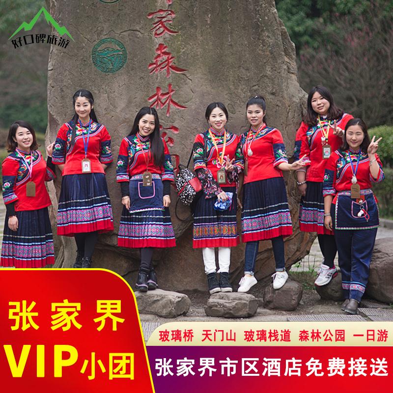 2-10人VIP小团结伴游张家界旅游天门山森林公园玻璃桥跟团一日游