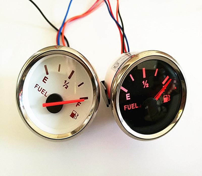 油量表燃油表柴油汽油表改加装汽车货车油箱改装油位表12-24V通用