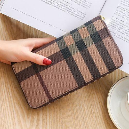2021新型財布女性の長いファスナー大容量本革は男性を包む韓国版ファッション多機能財布を持っています。