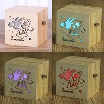 十二星座音乐盒八音盒天空之城木质创意女生日礼物圣诞节闺蜜朋友