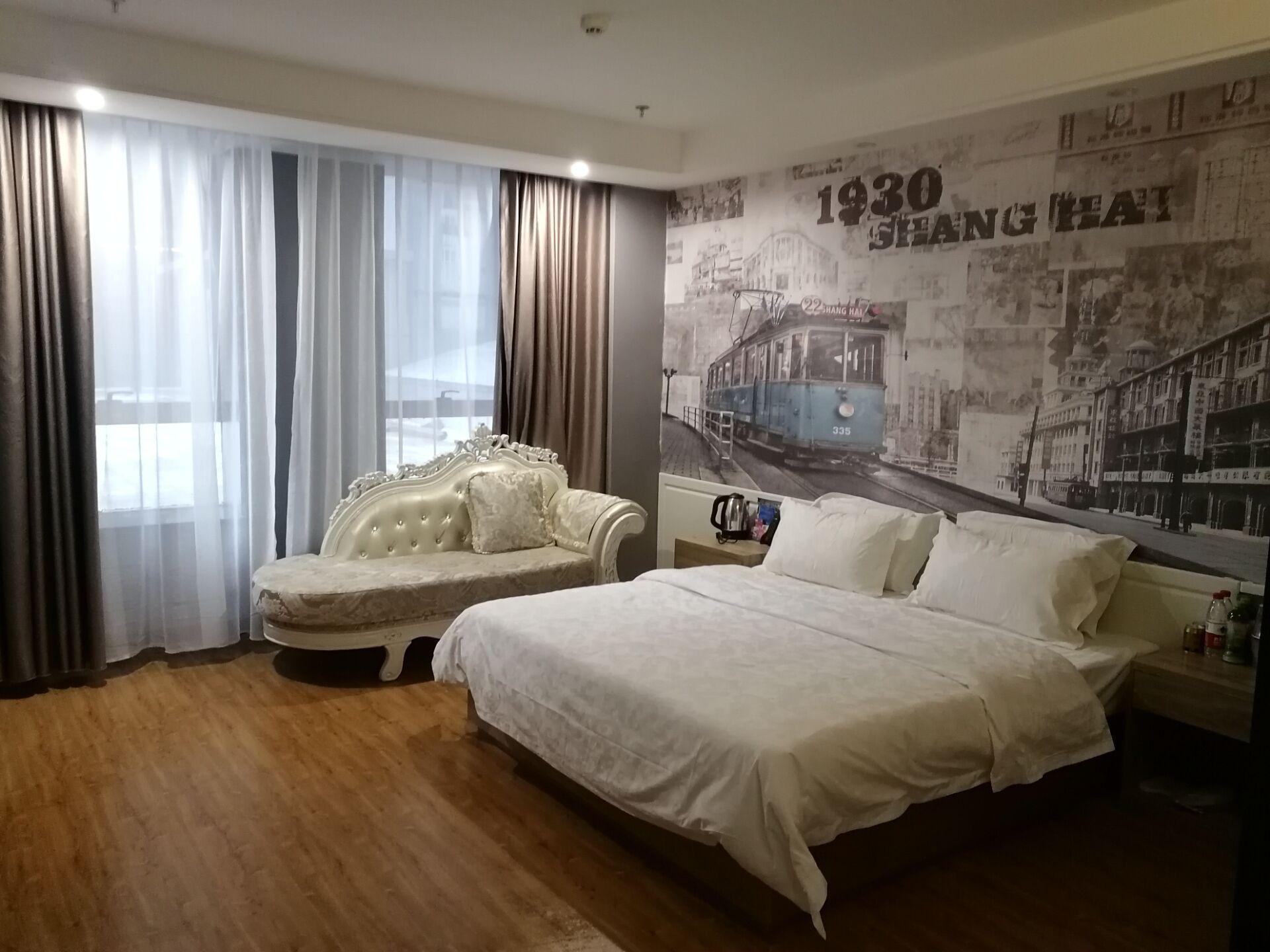 吉翔如意酒店上海滩大床房