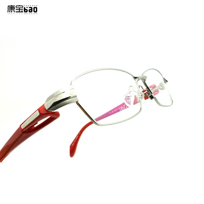 Pure titanium full frame spectacle frame myopia can be equipped with anti radiation sun myopia lens Pingguang Songdao mf-1181 positive tree