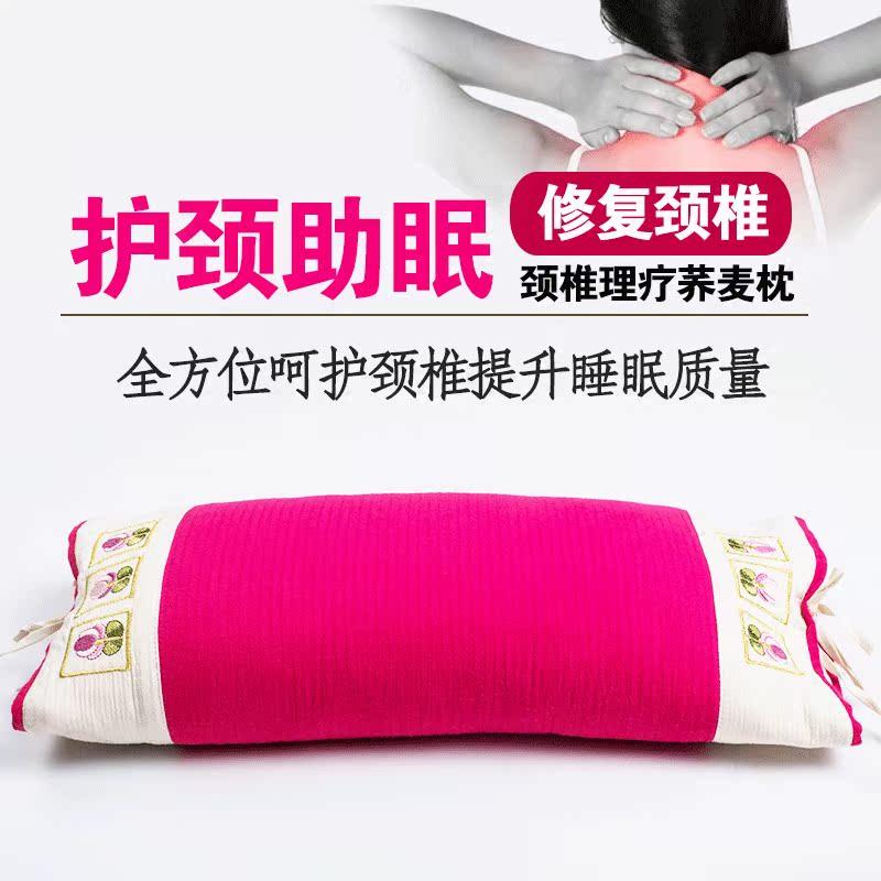 全荞麦儿童枕头 小枕头 生态花草枕 韩式绣花护颈枕头 学生枕头