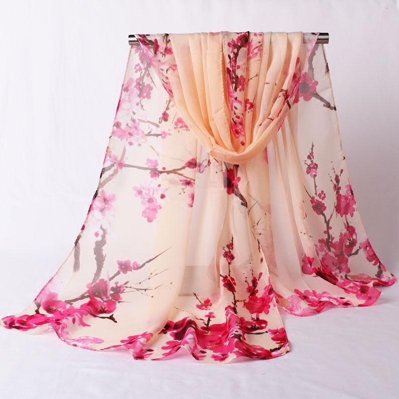 春秋丝巾女士夏季薄披肩两用长款百搭雪纺纱巾防晒小围巾领巾方巾
