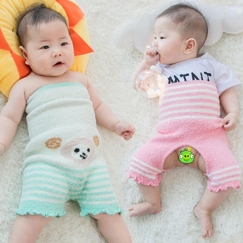 宝宝护肚裤婴儿护肚围秋冬纯棉护肚子儿童裹肚子加厚腹围四季通用
