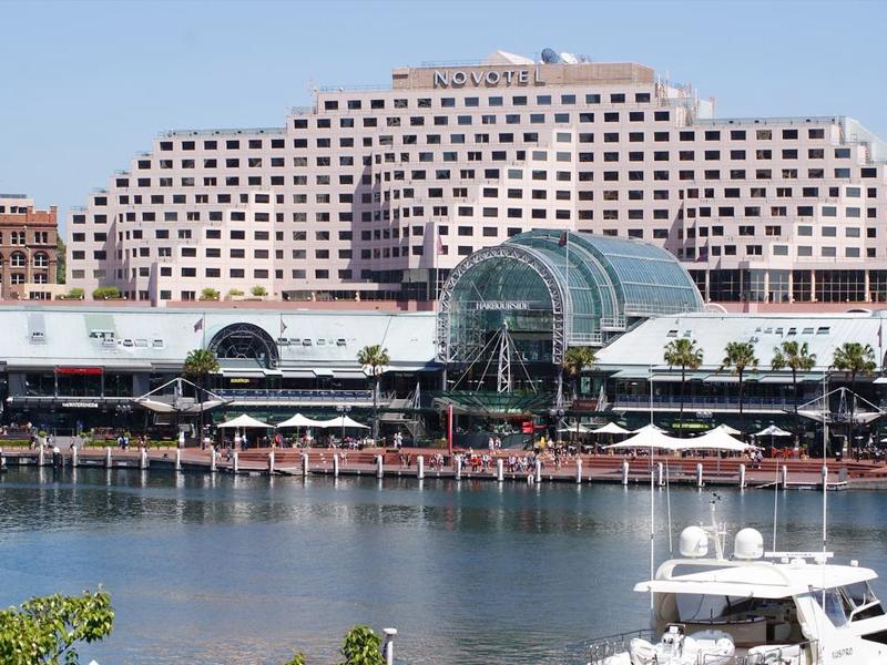 悉尼达令港诺富特酒店豪华城市天际线景观客房