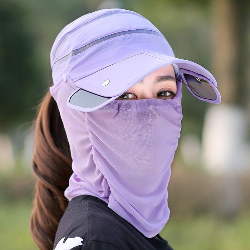 女夏骑车防晒紫外线护颈男遮阳帽10月11日最新优惠