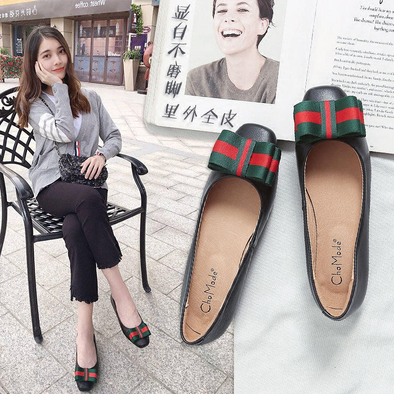 2018 new fashion pregnant womens shoes childrens flat bottomed spring and autumn ladys shoes