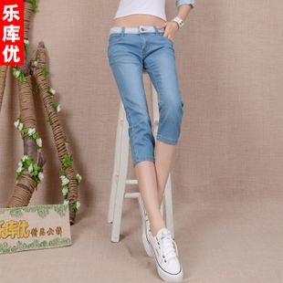 Excellent music library thin breathable lace carved colored pencil pants feet pants pant jeans female summer