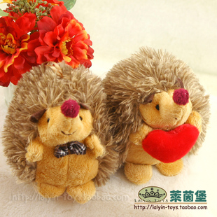 Genuine plush toy doll hedgehog lovers trumpet wedding gift ideas presses doll factory outlets
