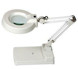 台式放大镜台灯 带灯放大镜 电子放大镜 LT-86C