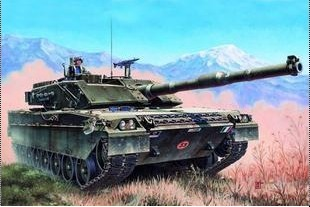 Trumpeter assembly model 00332 1 35 Italian C1 Rams C 1 main battle tanks Aries Edition