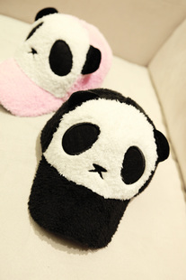 Fan Bingbing same paragraph 2013 new winter wild panda cute plush hat lovers cap baseball cap