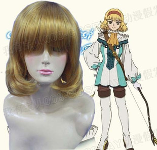 Size Princess COSPLAY wig new COS anime wig stock Legend of the abyss game Natalia