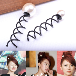 D13 Ian Hui woman my biggest pearl Spiral hair tool chuck Queen Hair Care & wig hair single disc price