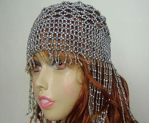 Новый головной убор аксессуары индия танец синьцзян танец египет танец этап реквизит рубец кожа танец шляпа жемчужина крышка