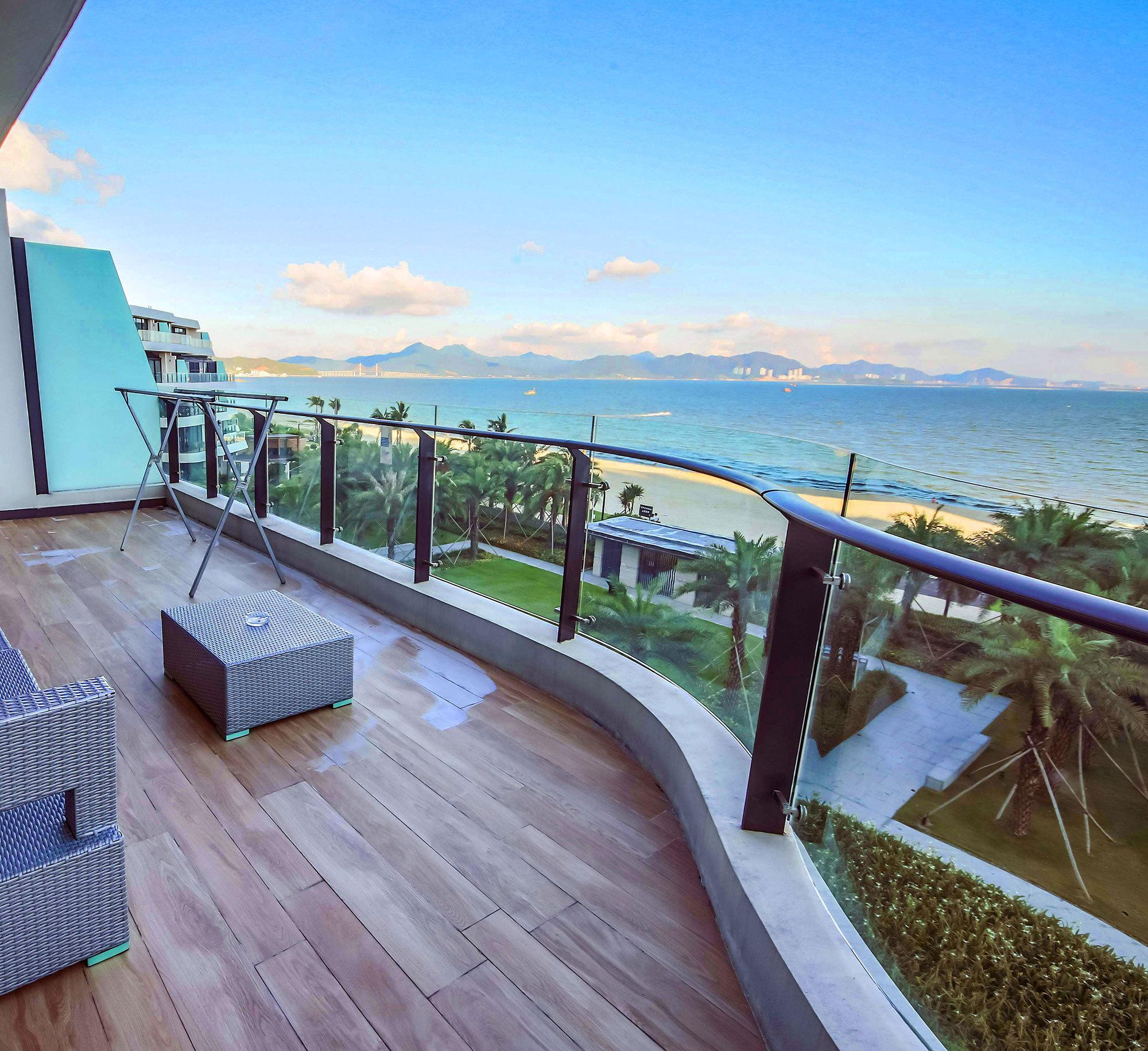 阳江沙扒月亮湾蓝湾度假公寓高级海景房两房一厅
