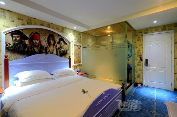 Love of the sea theme hotel (Chengdu West Street store) Pirates of the Caribbean