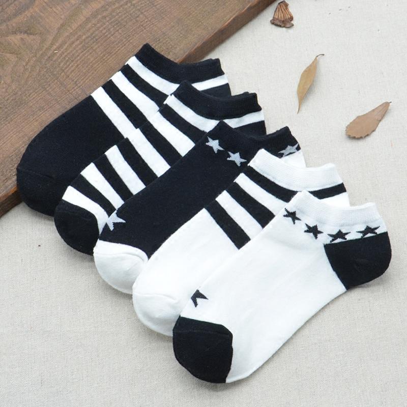 袜子女低帮短袜韩国棉袜运动袜韩版学院风浅口船袜夏季薄款隐形袜限1000张券
