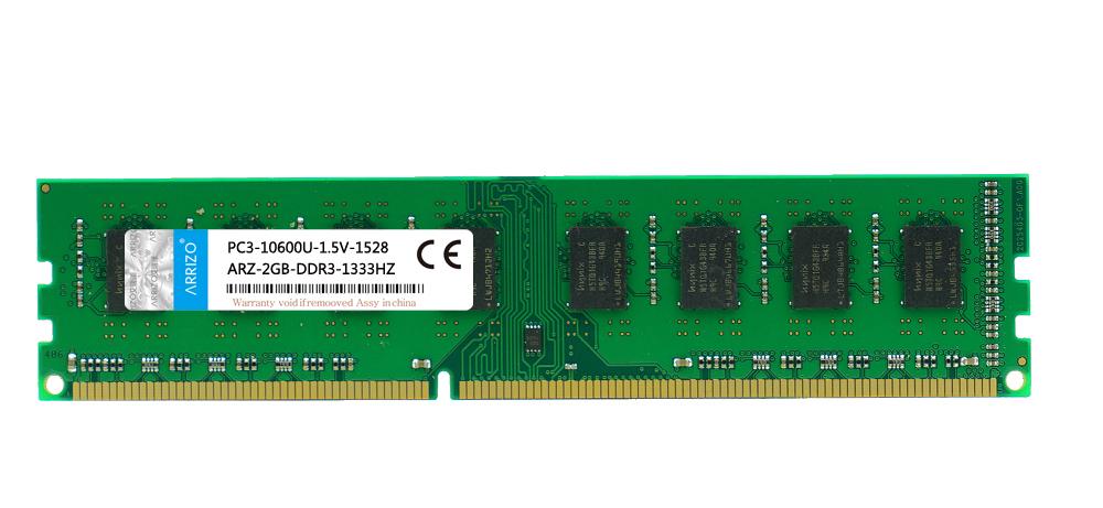 ARRIZO 艾瑞澤 ARZ~2G DDR3 1333^(台式機)