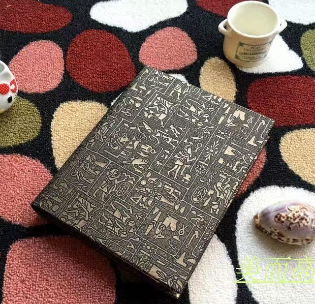 New Year gift Korean hand made classic DYI photo album album retro leather sculpture cabinet insert photo album