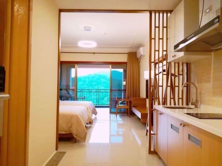 惠州龙门南昆山富力养生谷温泉度假别墅豪华大床房公寓