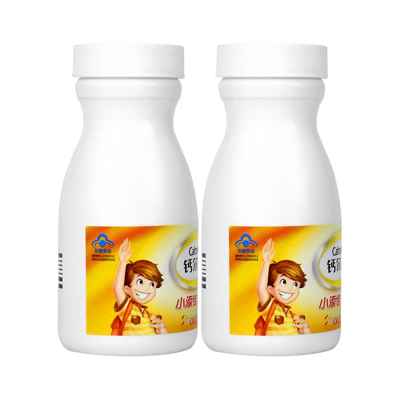 钙尔奇小添佳钙尔奇儿童钙片咀嚼片糖果无添加补钙微量元素成长钙