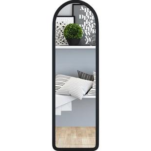 鏡子全身鏡長壁掛鏡簡約寢室穿衣鏡服裝店試衣鏡宿舍貼牆鏡子掛牆